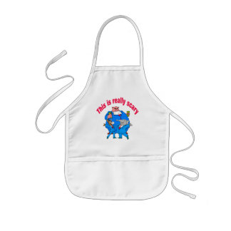 This is really scary kids' apron