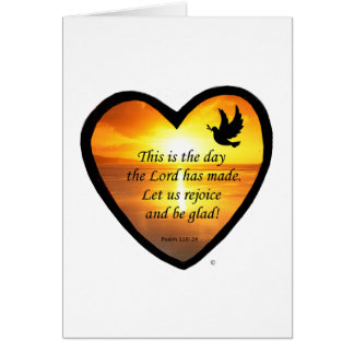 This Is The Day Greeting Card