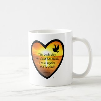 This Is The Day Classic White Coffee Mug