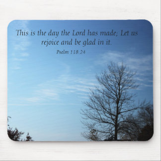 This is the day Scripture Mousepad