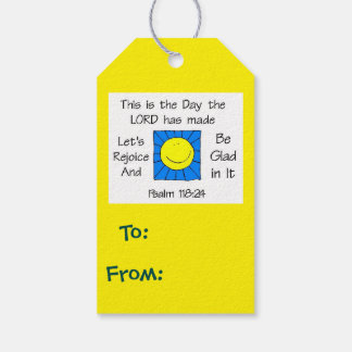 This is the Day Sun Pack Of Gift Tags