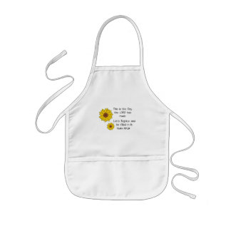 This is the Day Sunflower Kids' Apron
