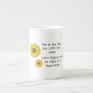 This is the Day Sunflower Tea Cup