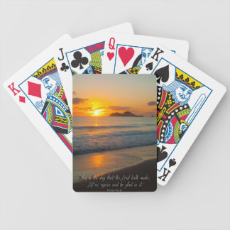 This is the day that the Lord has made Bicycle Playing Cards