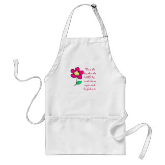 This is the day that the LORD has made; let us re Adult Apron