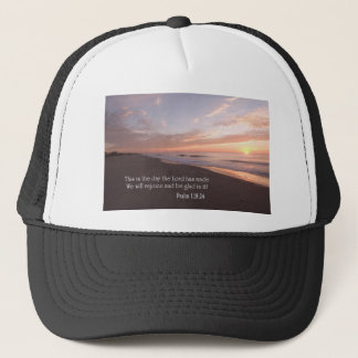 this is the day trucker hat