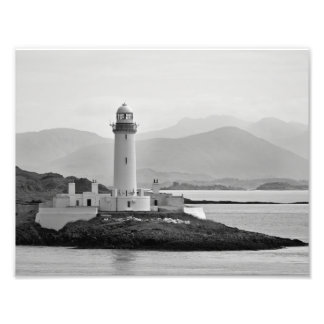 This is the Eilean Musdile Lighthouse Photographic Print