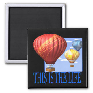 This Is The Life 2 Inch Square Magnet