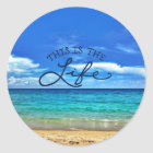 This is the Life Classic Round Sticker