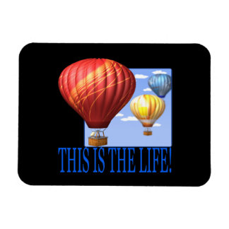 This Is The Life Rectangular Photo Magnet