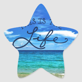 This is the Life Star Sticker