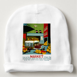 This is the Market... Baby Beanie