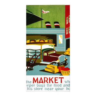 This is the Market... Card