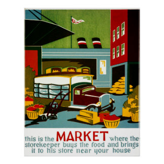 This is the Market... Poster