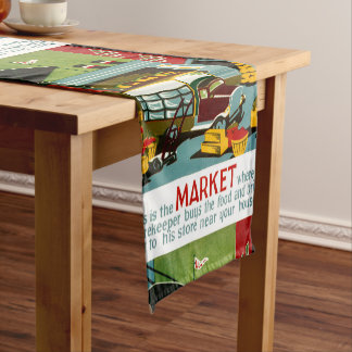 This is the Market... Short Table Runner