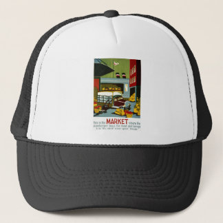 This is the Market Trucker Hat