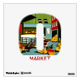 This is the Market... Wall Sticker