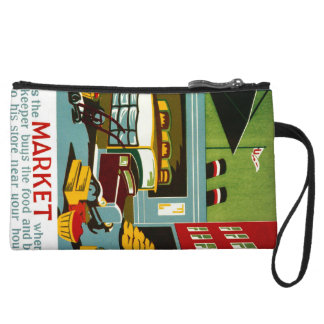 This is the Market... Wristlet
