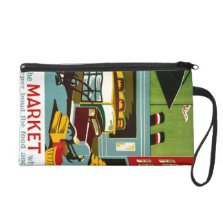 This is the Market... Wristlet Purse