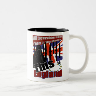 THIS IS THE NEW ENGLAND Two-Tone COFFEE MUG