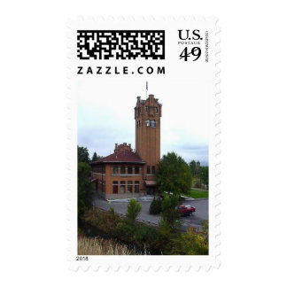 This Is The Old Missoula Train Station Postage Stamps