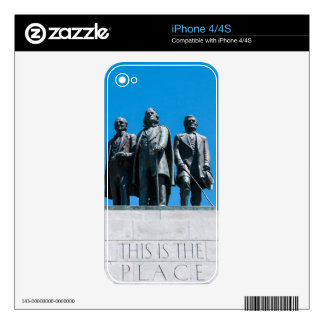 """This is the Place"" Monument - Utah Decals For The iPhone 4"