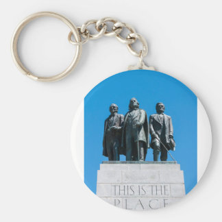 """""""This is the Place"""" Monument - Utah Keychain"""