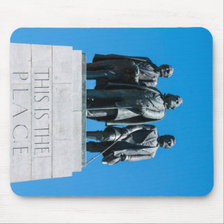 """""""This is the Place"""" Monument - Utah Mouse Pad"""