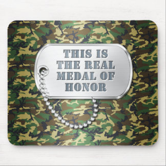 This is the REAL Medal of Honor Mouse Pad