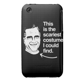 THIS IS THE SCARIEST COSTUME I COULD FIND - ROMNEY iPhone 3 CASE