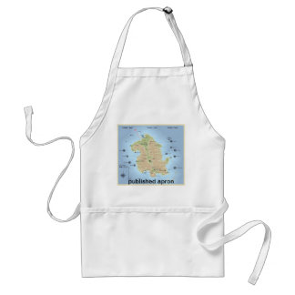 this is the title adult apron