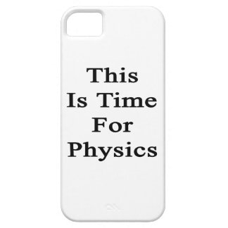 This Is Time For Physics iPhone 5 Cover