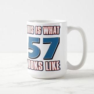 This is what 57 years lools like coffee mugs