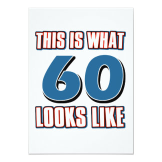 This is what 60 years lool like card