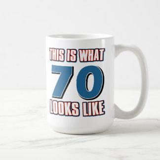 This is what 70 years lool like coffee mug