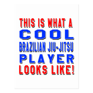 This Is What A Cool Brazilian Jiu-Jitsu Player Loo Postcard