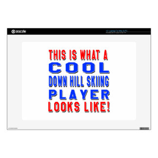 This Is What A Cool Down Hill Skiing Player Looks Laptop Skins
