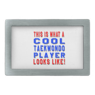 This Is What A Cool Taekwondo Player Looks Like Belt Buckles