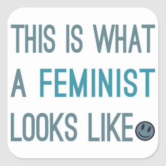 This is What a Feminist Looks Like Stickers