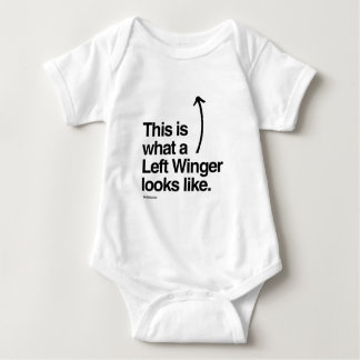THIS IS WHAT A LEFT WINGER LOOKS LIKE TEE SHIRTS