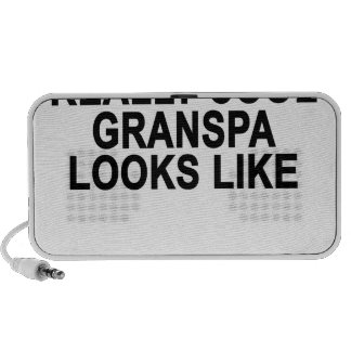 This is What a Really Cool Grandpa Looks Like T-Sh Travel Speaker