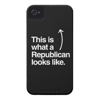 THIS IS WHAT A REPUBLICAN LOOKS LIKE.png iPhone 4 Covers