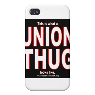 This is what a UNION THUG looks like. iPhone 4/4S Case