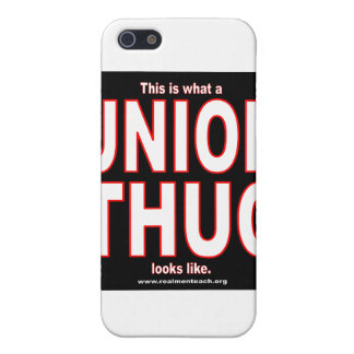 This is what a UNION THUG looks like. iPhone SE/5/5s Case
