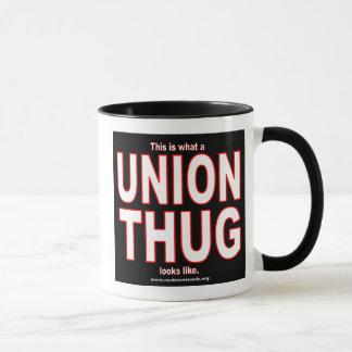 This is what a UNION THUG looks like. Mug