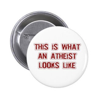This is what an Atheist looks like Pins