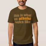 This is what an atheist looks like shirt