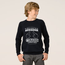 This is What an Awesome 7th Grader Looks Like Sweatshirt
