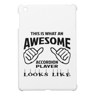 This is what an awesome accordion player looks lik iPad mini covers