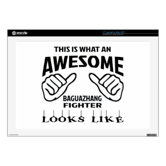 This is what an awesome Baguazhang Fighter looks l Laptop Skin